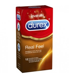 DUREX SENSITIVO REAL FEEL 12 UDS