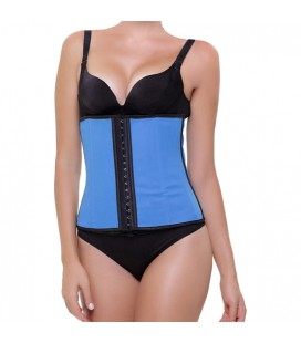 CORSET LATEX APPEARANCE AZUL