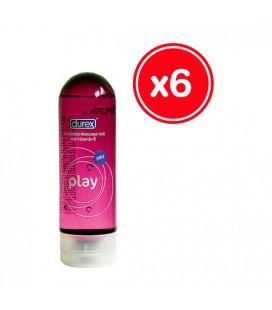 DUREX PLAY MASSAGE 200 ML 6 UDS