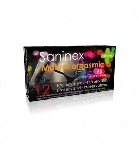 SANINEX PRESERVATIVOS MUTUAL ORGASMIC 12UDS