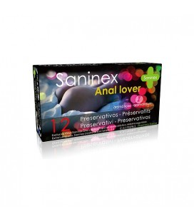 SANINEX PRESERVATIVOS ANAL LOVER 12UDS
