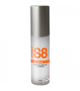 S8 LUBRICANTE ANAL BASE DE AGUA 50ML