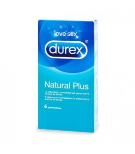 DUREX NATURAL PLUS 6 UDS