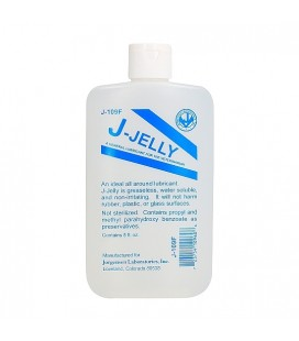 J-JELLY FLASK LUBRICANTE BASE DE AGUA 240ML