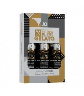 SYSTEM JO PACK DE 3 LUBRICANTES GELATO