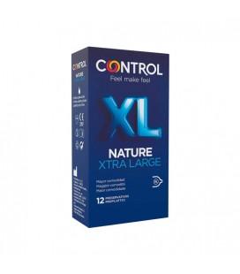CONTROL PRESERVATIVOS NATURE XL 12UDS