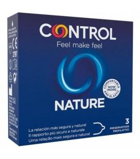 PRESERVATIVOS CONTROL NATURE 3UDS