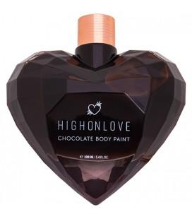 HIGH ON LOVE PINTURA CORPORAL DE CHOCOLATE 100 ML