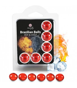 SECRET PLAY SET 6 BRAZILIAN BALLS EFECTO HOT & COLD