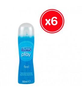 DUREX PLAY FEEL 50 ML (6 UDS)